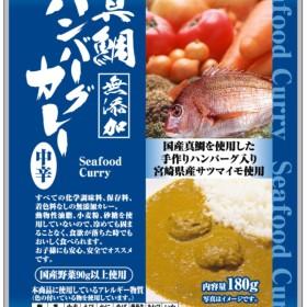 PB自社製品真鯛ハンバーグカレー